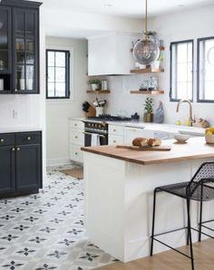 Kitchen White Floor Ideas