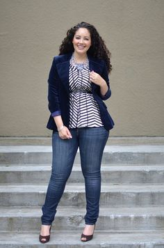 Your Style Lab | Curvy plus size with jeans