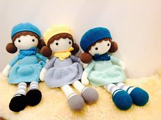 Pretty crochet items are our love and passion by TheCrochetMagicShop Crochet Girls, Cute Crochet, Crochet Baby, Girl Dolls, Baby Dolls, Pram Toys, Baby Prams, Baby Girl Shoes, Easy Crochet Patterns
