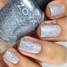 Who's excited about Zoya's new PixieDust Collection? Zoya's new summer collections the Sunsets Collection, 6 cremes, and the Seashells. Silver Nail Polish, Zoya Nail Polish, Silver Nails, Nude Nails, Seashells, Swatch, Finger, Vera Wang, Summer 2016