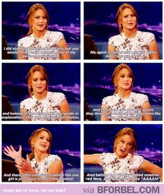 Jennifer Lawrence On Being An Unsuccessful Child Model For Abercrombie… I want her has my best friend