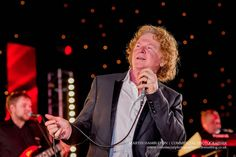 Mick Hucknall performing onstage at a private event | Martin Hambleton commercial event photographer
