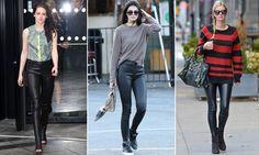 Trend Alert: ¡amamos los leather leggings de Balenciaga!