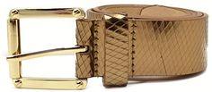 "#Vince #Camuto Womens Bronze 41mm 1.5"" Diamond CUT #Belt Large #VinceCamuto http://www.amazon.com/dp/B00OEFXJ4Q/ref=cm_sw_r_pi_dp_1FBoub1A62D4G"
