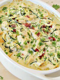 Chicken Alfredo Zoodle BakeReally nice recipes. Every hour.Show  Mein Blog: Alles rund um die Themen Genuss & Geschmack  Kochen Backen Braten Vorspeisen Hauptgerichte und Desserts # Hashtag