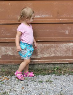 Bubble Shorts by Aivilo Charlotte - 12 months to 6y