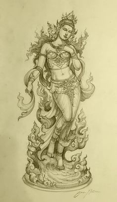 Parrot Painting, Silk Painting, Thailand Art, Cement Art, Thai Art, Art Drawings Sketches, Buddhist Art, Technical Drawing, Religious Art