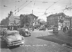 S-Bahnhof Berlin Steglitz in den 50ern