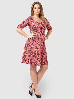 Dina Dress In Cherry Blossom