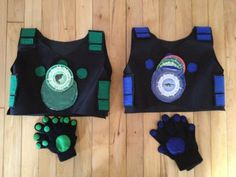 "DIY Creature Power Suits If your kid likes being ""The Wild Kratts"", then this is only animal costume you will ever need!"