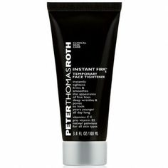 Peter Thomas Roth Instant FirmX reduces the signs of aging. It contains Firming Agents to tighten and firm the skin and Glycerin to hydrate it. Peter Thomas Roth, Dry Skin Remedies, Skin Care Clinic, Best Skin Care Routine, Under Eye Bags, Firming Cream, Younger Skin, Best Face Products, Products