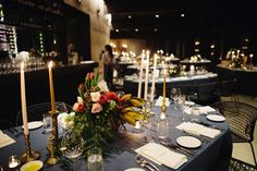 Tori and Dave's Candlelit Winter Wedding