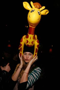 Model Behati Prinsloo attends Ben Watts' birthday party at The Double Seven on January 19, 2012 in New York City.  (Photo by Andy Kropa/Getty Images)