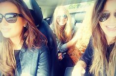 Driving in the car with the ladies #maccasrun