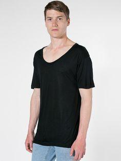 【ビスコースセクシュアリTシャツ】ビスコースを使用した軽くて着心地の良いオーバーサイズTシャツで…
