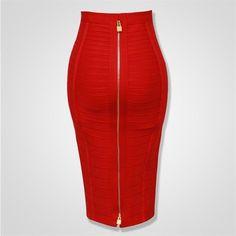 Short Pencil Skirt, Pencil Skirts, Pencil Dresses, Mini Party, Vestidos Sexy, Bandage Skirt, Midi Skirt, Cheap Skirts, Orange