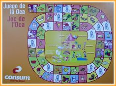 Juego de la oca win spot by identifying a vocab word. Several vocab themes available. 1 to 4 players. Consider for HW. Spanish Teacher, Spanish Class, Teaching Spanish, Activity Games, Activities, Chinese Crafts, English Resources, Classroom, Game Ideas