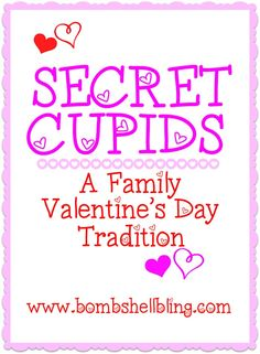 This is the cutest family tradition for Valentine's Day! I can't wait to do it this year!