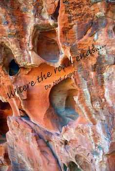 Valley of Fire Colors of Erosion by WhereTheRoadEnds on Etsy
