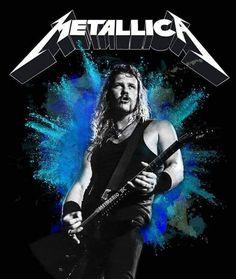 Metallica Band, Jason Newsted, Robert Trujillo, Dave Mustaine, Kirk Hammett, James Hetfield, Heavy Metal Bands, Music Is Life, Rock N Roll