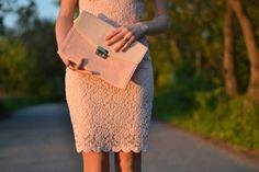 9.pink lace dress