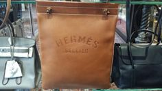 Love this Ultra RARE Hermès Special Edition Bareina Feed Bag!! Available at Only Authentics
