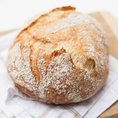 The easiest no-knead bread you'll ever bake!