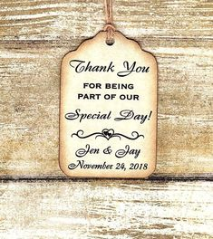 Custom listing for Shamdai- 100 Thank you Tags/Liquor Bottle Tags/ Gift Tags/Shower/Wedding Favor Tags/ Vintage Style Personalized-Thank You Vintage Inspired, Vintage Style, Wedding Favor Tags, Thank You Tags, Liquor Bottles, Vintage Tags, Special Day, Gift Tags, Shower