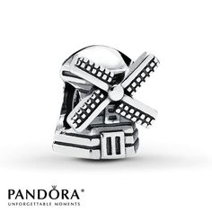 Pandora Charm Windmill Sterling Silver - This will represent Holland when i visit :)