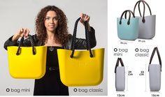 O bag size comparison