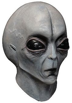 Other Costume Accessories 82161: Area 51 Alien Adult Mask -> BUY IT NOW ONLY: $42.98 on eBay!