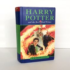 Harry Potter and the Half-Blood Prince  #book #clock #harry #potter #upcycled #decor #booklover