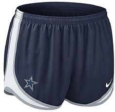 Dallas Cowboys Women's Tempo Short by Nike $34.00