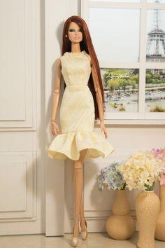 Afternoon Deligh 03 - Dress for Fashion Royal 12'' Fashion & Same size 12'' fashion Doll