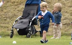 telegraph:  Festival of Polo, Beaufort Polo Club, June 14, 2015-Prince George and Mia Tindall