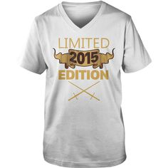 Limited 2015 Edition T Shirt Funny Birthday Gifts 2 Years Old #gift #ideas #Popular #Everything #Videos #Shop #Animals #pets #Architecture #Art #Cars #motorcycles #Celebrities #DIY #crafts #Design #Education #Entertainment #Food #drink #Gardening #Geek #Hair #beauty #Health #fitness #History #Holidays #events #Home decor #Humor #Illustrations #posters #Kids #parenting #Men #Outdoors #Photography #Products #Quotes #Science #nature #Sports #Tattoos #Technology #Travel #Weddings #Women