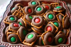Recipe Shoebox: Holiday Baking #9: Easy Chocolate Pretzel Bites