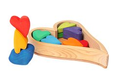 Building Set Rainbow Hearts - Laughter Lines