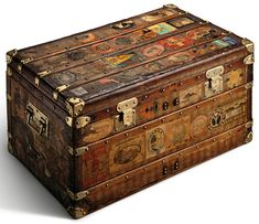 Trunk from the Louis Vuitton collection
