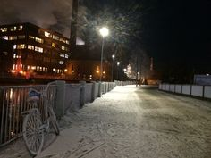 Just the frozen city around me #Finland #Tampere