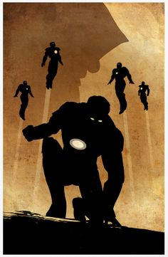 Ironman 3 Poster A3 Print