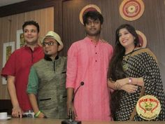The debut solo venture of musician Rit is titled Ami Nijer Moto Bhabbo. The album was launched by Arindam Sil, Vaishali Dalmiya and others.