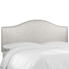 Groupie Oyster Nail Button Headboard- Skyline Furniture | Overstock.com Shopping - The Best Deals on Headboards