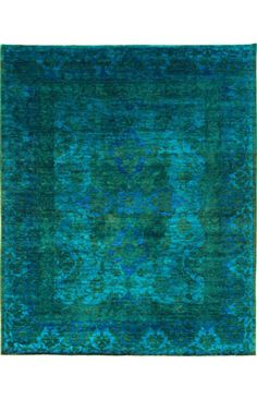 Rugs USA Overdyed Fremont Teal Rug