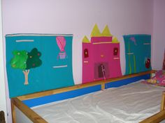 Wall dollhouses (castle, forest, underwater themes) !!!! the dolls are placed in the elastic horizontal stripes and not in fabric pocket as all girls love displaying the dresses !!!!!