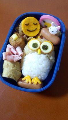 Owl Kyaraben, Character Bento Boxed Lunch © ありちゃん