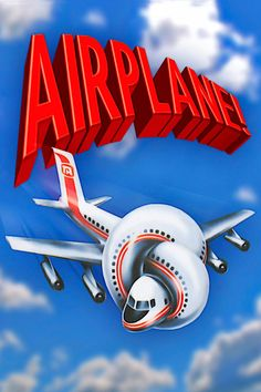 Airplane! features Robert Hays as an ex-fighter pilot forced to take over the controls of an airliner when the flight crew succumbs to food poisoning; Julie Hagerty as his girlfriend/stewardess/co-pilot; and a cast of all-stars.