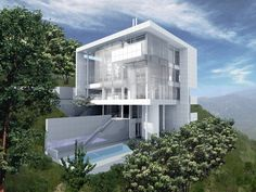 Shenzhen Houses – Richard Meier & Partners Architects