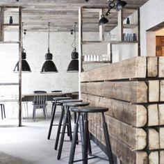 Restaurant Höst is a minimalist restaurant interior created by Denmark-based designers Norm Architects & Menu.