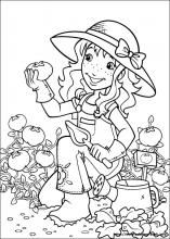 holly hobbie coloring pages on coloring bookinfo